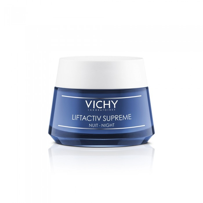 Vichy Liftactiv Supreme zpevňující noční krém pro redukci vrásek 50ml